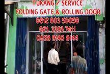 Dr.Folding Gate - 081280350050 - Specialist service & pemasangan panggilan