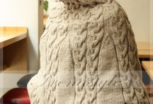 Poncho MADE TO ORDER Hand Knit