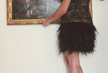 McBerry Dresses / Feathers and Lace