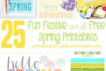 Designing for Spring / Print design ideas to make the most of the spring season.