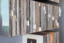 Mobilier pour vinyles