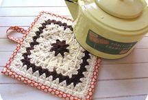 Crochet :: agarraderas