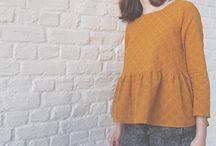 Sewing projects - Projets à coudre / Idées de jolies pièces à coudre pour mon dressing !