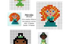 Pearler bead patterns / Crafts for Maddy / by Amanda Knudtson