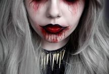 creepy make-up