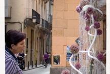 Escultura y Flores / by Andrómeda Floristería Creativa