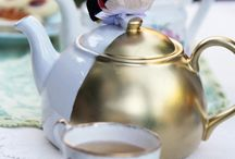 {Theme} Tea Party / Take a break and have a spot of tea. ☕