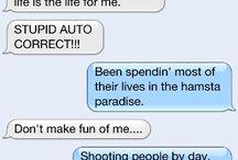 Auto Correct Funnies