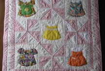 doll dress quilts / by Ell Henry