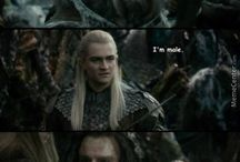 lord of the rings + hobbit stuff