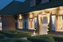 архитектурная подсветка частных домов