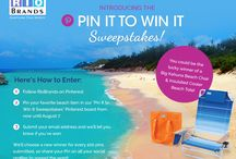 Pin It to win it sweepstakes / by Jen Rodrigues