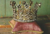 It's Good To Be Queen / Crowns, diadems, tiaras, and majestic hair ornaments