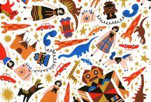 Illustration patterns
