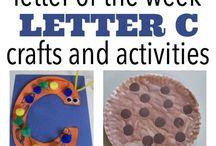 "letter ""Cc"" activities"
