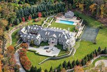 Dream House Ariel View