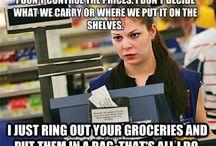 Cashier life