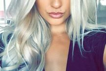 ThatLaidBackChic | Platinum and Gray / Because #HairGoals