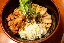 Oiled Ramen Noodles / Basic noodles in Japan!