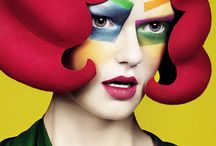 make-up / great make-up designs / by Ronni Goddard