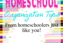 Organizing Your Homeschool / Ideas for organizing your homeschool and curriculum