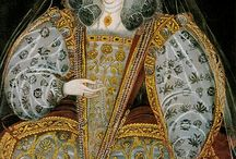 Elizabethan garden embroidery