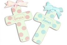 Baptism  & First Holy Communion / Personalized Baptism Gifts and Great Ideas for 1st Holy Communions Too. / by My Bambino