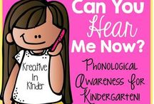 Phonological Awareness / by Beth Kelly