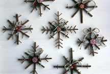 Self-made Christmas decorations