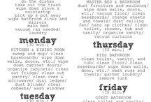 Chores!!