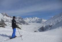 Skiing in Valais / Valais