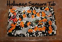 Halloween....Sensory Bins & Bottles / by Carla M.