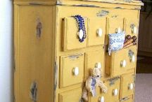 Blue and yellow......but coastal / by Cherie Eckel