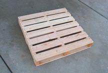 Pallet for kitchen shelf