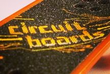 Tony Hawk Circuit Boards / A revolutionary line of motorized micro boards brought to you by HEXBUG and Tony Hawk.