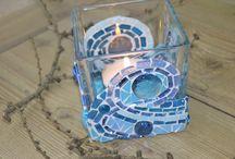 Projekter, jeg vil prøve / glaskunst glas mosaik papirkunst madopskrifter indretning