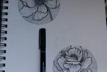 fiori stilizz