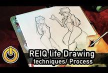 video di disegno