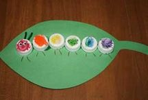 Caterpillar craft idea / This page has a lot of free Caterpillar craft idea for kids,parents and preschool teachers.