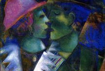 Marc Chagall,Edvard Munch