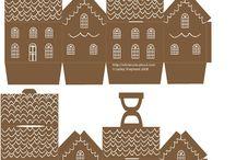 perníkové domčeky