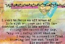 Art-Bible-Prayer Journal / Art Journal, Bible Journaling, Prayer Journal Doodles and Inspiration / by Krystal's Cards - Stampin' Up!