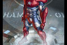 Super Heroes - Marvel - IRON MAN