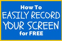 Video, Audio, Screencasts / How To's and Tips on making Videos, Audios and screencasts