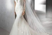 ZISSI - csipke sellő esküvői ruha a Rosabella Szalonban