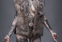 Sexy girls with needle art