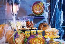 Halloween Inspiration / Halloween engangsartikler og dekorationer. Inspirationen til din næste halloween festtema