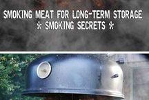 Curing, Smoking, Preserving