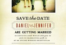 Save The Date - Inspiration for Lynsey / Inspiration for Lynsey's Save The Date Project for Carol & Nick's Wedding!!!