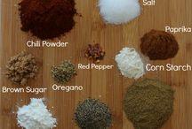 Dips, dressings & seasonings and sauces.